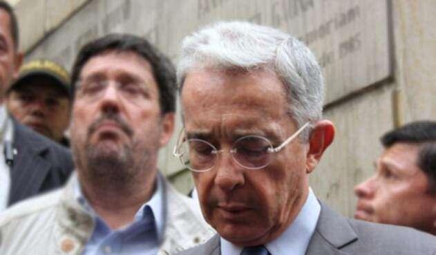 Álvaro Uribe Vélez, senador de la República