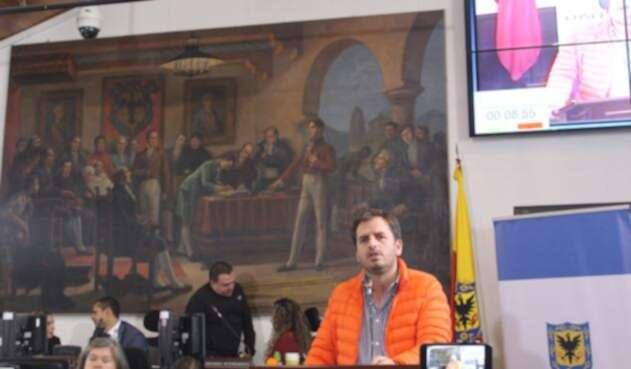 Andrés Forero, concejal que lidera la iniciativa
