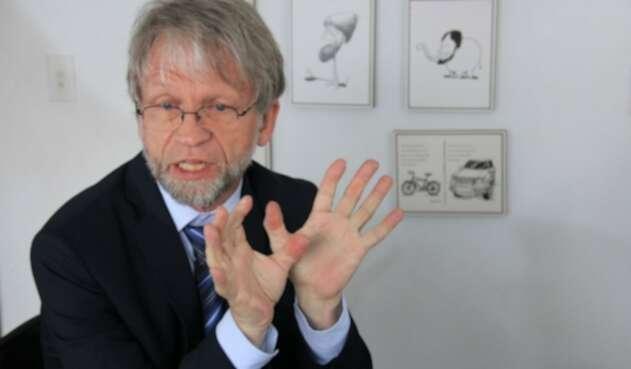 El senador Antanas Mockus