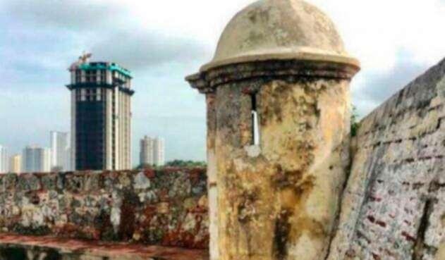 El edificio Aquarela de Cartagena
