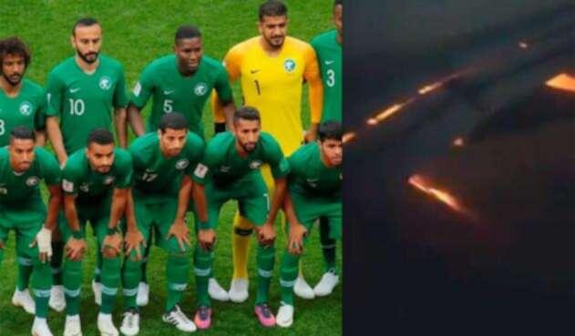 accidente avión Arabia Saudi