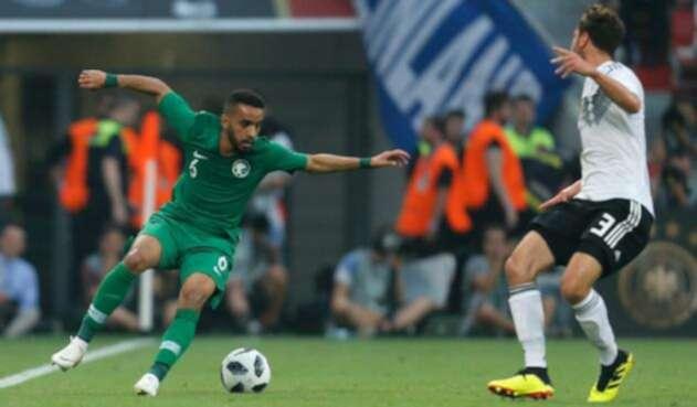El conjunto saudí estuvo a punto de empatar frente a los dirigidos por Joachim Löw