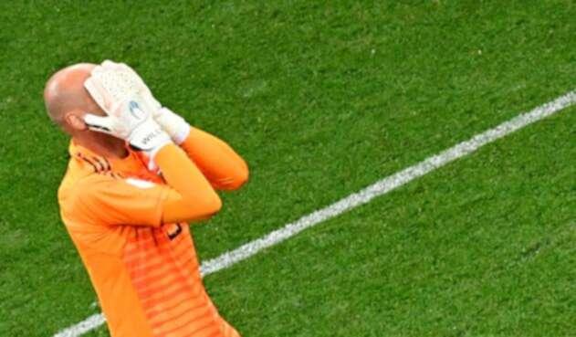 El portero argentino cedió el primer gol croata tras un terrible error