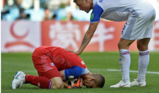 Hannes Halldorsson, el cerrojo islandés que le robó el show a Lionel Messi