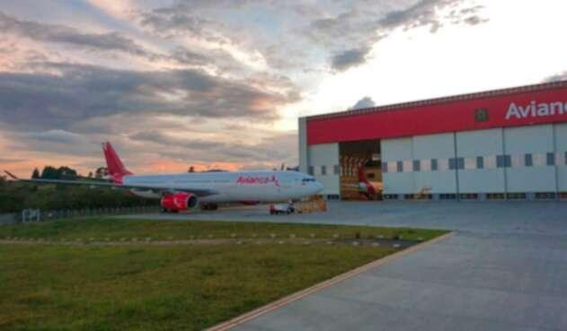 El Airbus A330-300 de Avianca
