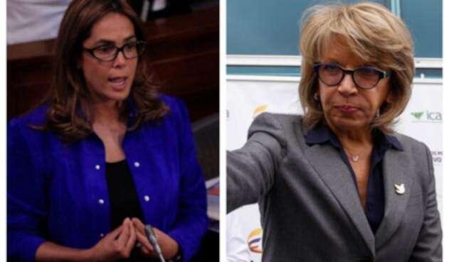 Exministras Gina Parody y Cecilia Álvarez