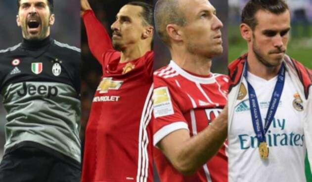 Buffon, Zlatan, Robben y Bale
