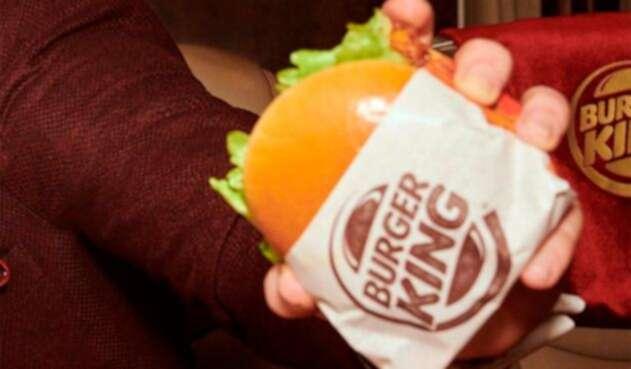 Imagen de una campaña publicitaria de Burger King