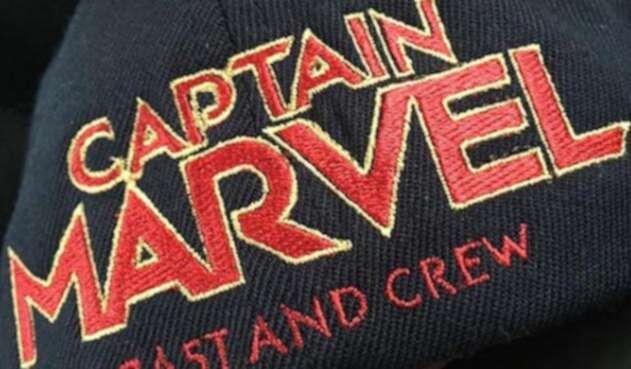 Gorra del film oficial Captain Marvel