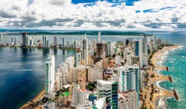 Panorámica de Cartagena de Indias