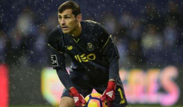 Iker Casillas jugó gran parte de su carrera con el Real Madrid