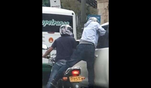 Caso de fleteo en Medellín