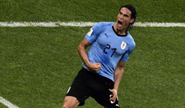 Edinson Cavani, delantero de Uruguay