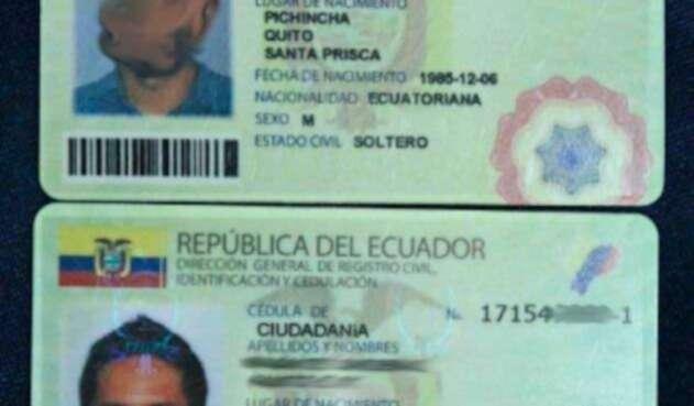 Cédula Ecuatoriana