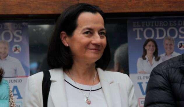 Clara Rojas, congresista liberal, en Bogotá