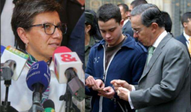 Claudia López, una permanente crítica de Álvaro Uribe