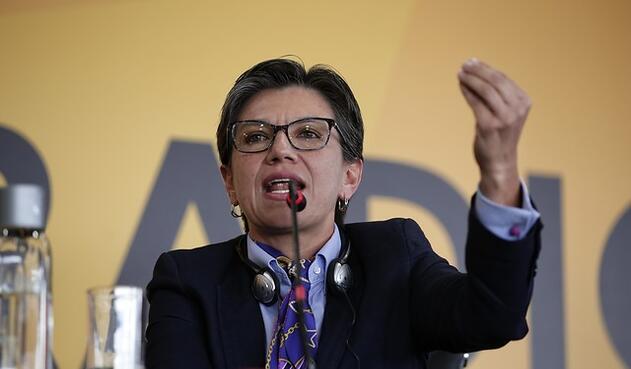 Claudia López, senadora