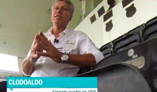 Clodoaldo Tavares de Santana, campeón con Brasil en México 1970