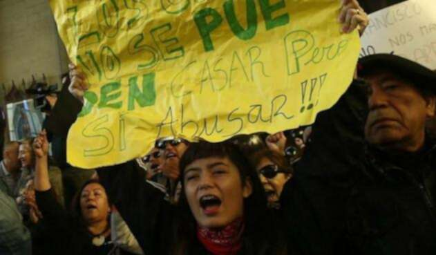 Abusos miembros de la Iglesia Católica en Chile.