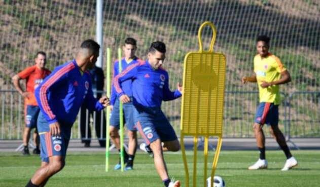 La Selección Colombia entrenando en Kazán, antes de viajar a Saransk