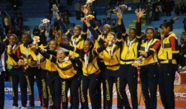 Colombia, campeón de los Juegos Suramericanos