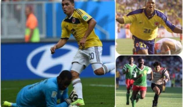 Colombia ha enfrentado a tres equipos africanos en su paso por los mundiales