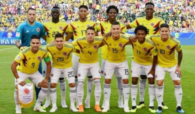 Yerry Mina en el once ideal de la fase de grupos del Mundial
