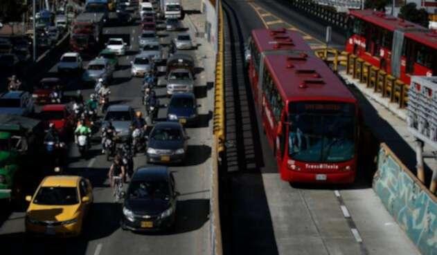 Sistema de transporte TransMilenio