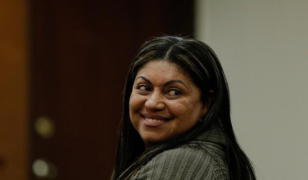 Oneida Pinto, exgobernadora de La Guajira