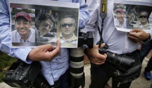 Los periodistas ecuatorianos de El Comercio fueron asesinados por disidencias de las Farc, comandadas por alias Guacho
