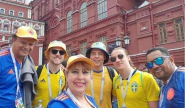 La concejal Sonia Navas se encuentra disfrutando del Mundial de Rusia