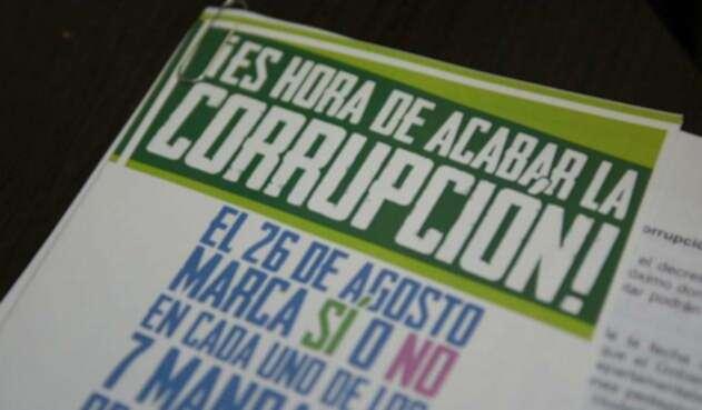 Avanza la campaña por la consulta anticorrupción en medio de señalamientos falsos