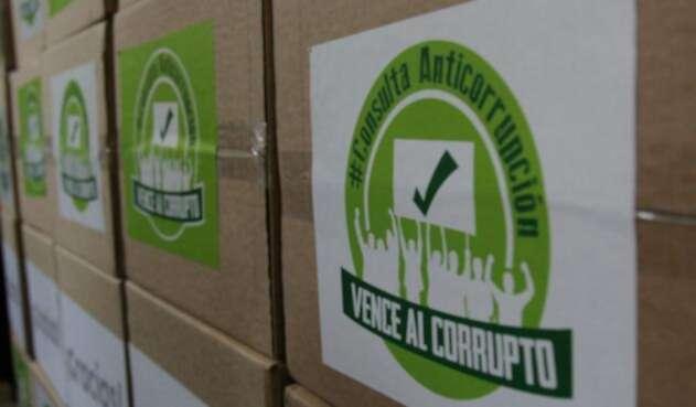 Aprobada la consulta anticorrupción