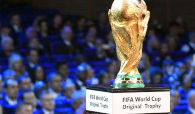 El trofeo de la Copa del Mundo
