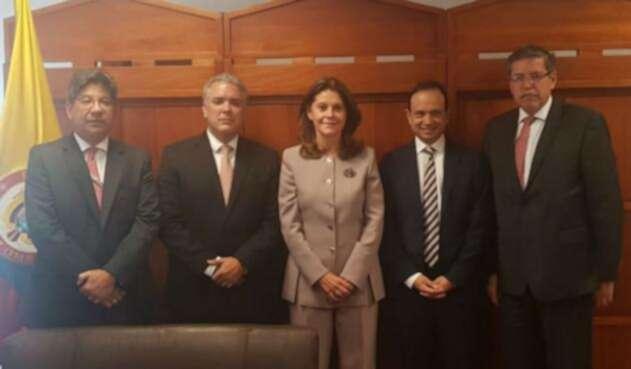 Iván Duque se reunió con Corte Constitucional