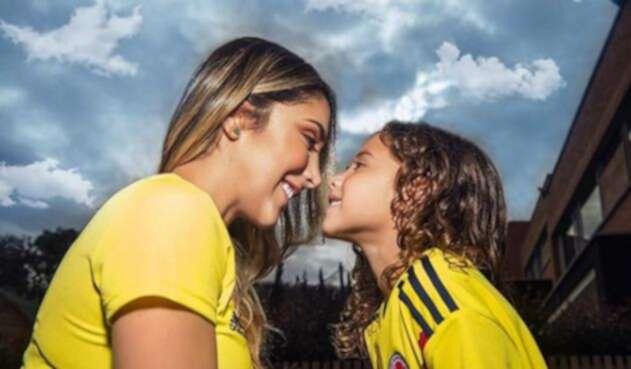 Daniela Ospina y Salomé, hija de James Rodríguez