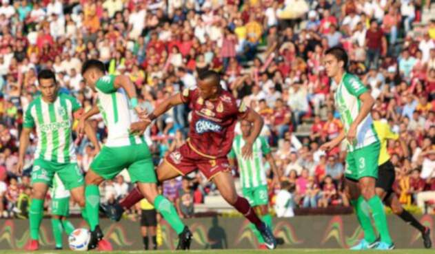 Deportes Tolima vs Atlético Nacional... final vibrante