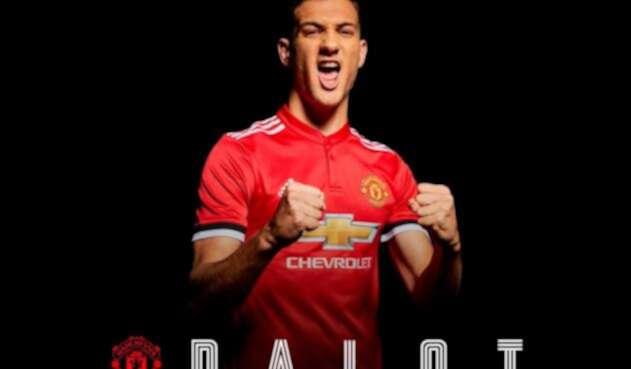 Diogo Dalot, jugador de Manchester United