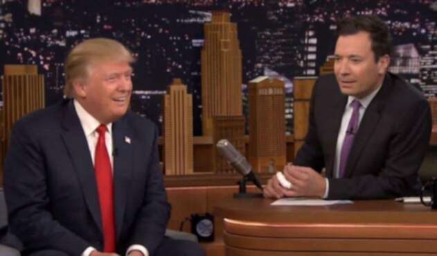 Donald Trump y Jimmy Fallon