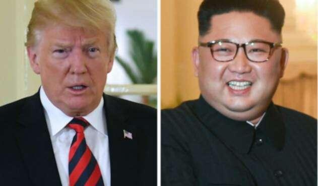Donald Trump y Kim Jong
