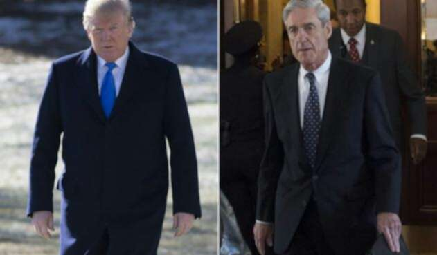 Donald Trump y Robert Mueller