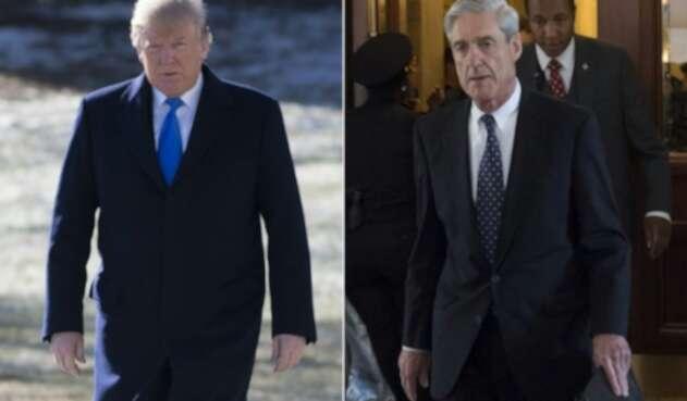 Donald Trump y Robert Mueller