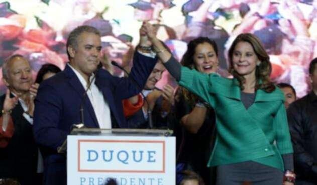 La fórmula Duque - Ramírez derrotó a la Colombia Humana