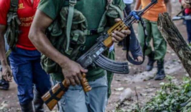 Enfrentamientos en Choco deja desplazamiento de varias familias.