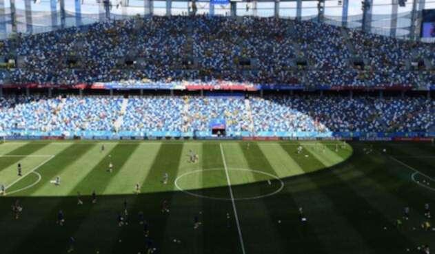 El Estadio de Nizhny Novgorod, en Rusia