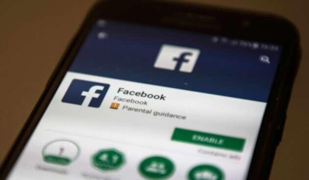 La aplicación de Facebook