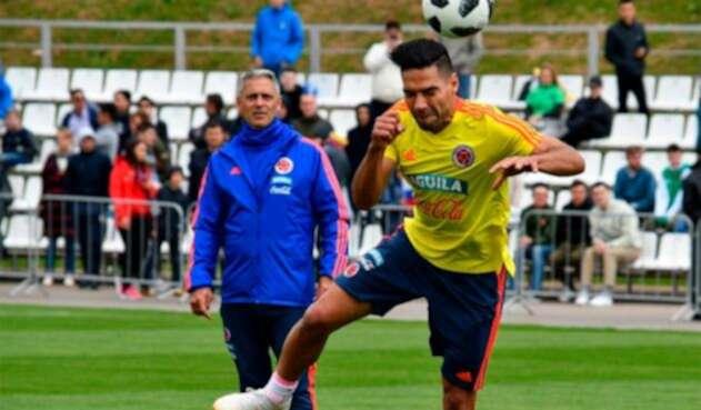 Radamel Falcao García, delantero de la Selección Colombia