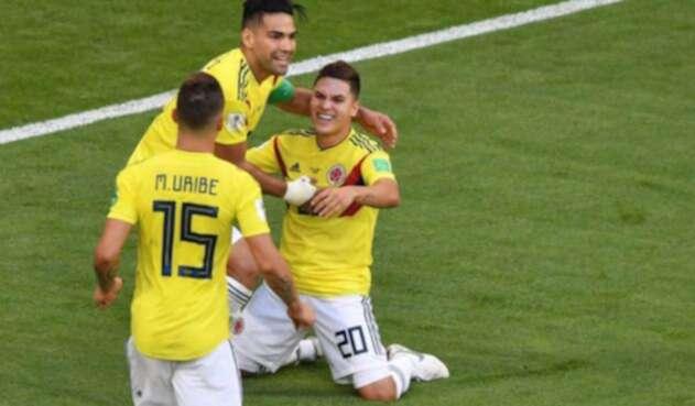 Juan Fernando Quintero ha sido vital para Colombia en el Mundial de Rusia