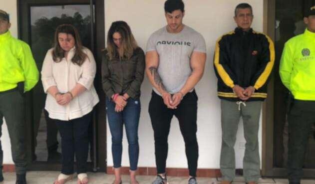 Los familiares de Pedro Aguilar capturados