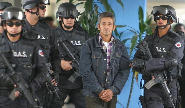 Fernando Arellán, exintegrante de las Farc procesado por atentado a Club El Nogal, en Bogotá